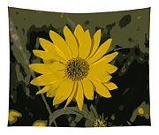 Posterized Smooth Oxeye Tapestry