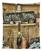 Potting Thyme Tapestry