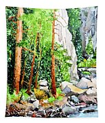 Poudre Canyon Beauty Tapestry