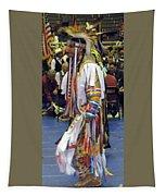 Pow Wow Dancer Tapestry