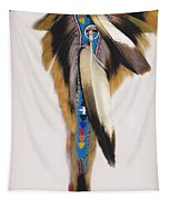 Pow Wow Regalia - White Tapestry