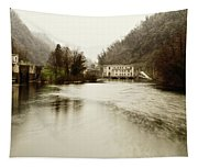 Power Plant On River Tapestry