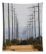 Power Poles  Tapestry