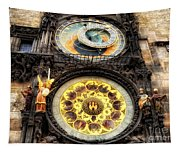 Prague Clock Orloj Tapestry