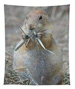 Prairie Dog Food Tapestry