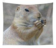 Prairie Dog Treat Tapestry