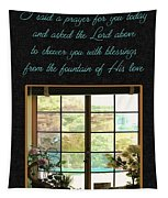 Prayer For You Card Tapestry
