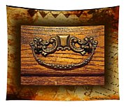 Pre-civil War Bookcase-drawer Pull Tapestry
