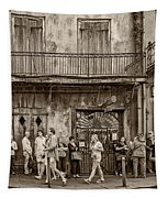Preservation Hall Sepia Tapestry