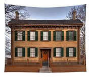 President Lincoln Home Springfield Illinois Tapestry