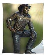 President Ronald Reagan Statue Tapestry