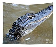 Pretty Gator Tapestry