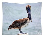 Pretty Gulf Pelican Tapestry