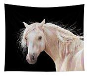 Pretty Palomino Pony Painting Tapestry