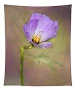Pretty Purple Flower Tapestry
