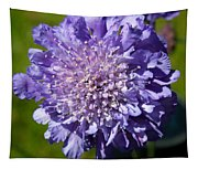 Pretty Purple Flower Tapestry