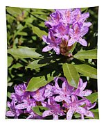 Pretty Purple Rhododendron Tapestry