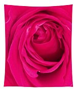 Pretty Red Rose  Tapestry