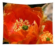 Prickly Pear In Bloom Tapestry
