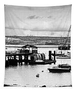 Priddy's Hard Boats Tapestry