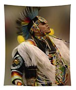 Pow Wow Native Pride 2 Tapestry