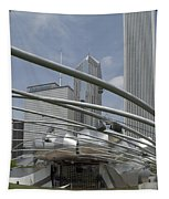 Pritzker South Facade Vertical Tapestry