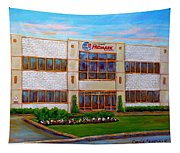 Promark Electronics 215 Voyageur Street Pointe Claire Montreal Scene Tapestry