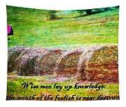 Proverbs 10 14 Tapestry