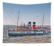 Ps Waverley Approaching Penarth Tapestry
