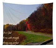 Psalm 18 32 Tapestry
