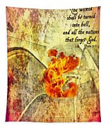 Psalm 9 17 Tapestry