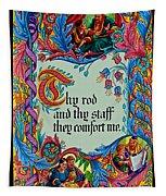 Psalms 23-4b Tapestry