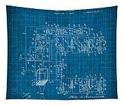 Pt Farnsworth Television Patent Blueprint 1930 Tapestry