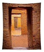 Pueblo Doorways Tapestry