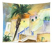 Puerto Carmen Sunset In Lanzarote 03 Tapestry