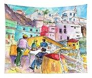 Puerto De Sardina 01 Tapestry