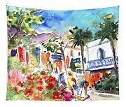 Puerto Mogan 10 Tapestry