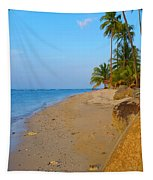 Puerto Rico Beach Tapestry