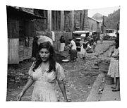 Puerto Rico Slum, 1942 Tapestry