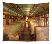 Pullman Porter Train Car Tapestry