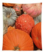 Pumpkin Happy Tapestry