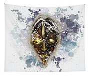 Punu Prosperity Mask Tapestry