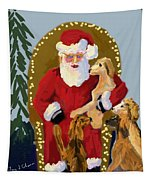 Puppy Talk Tapestry