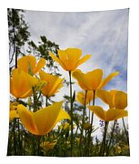 Purely Poppies  Tapestry