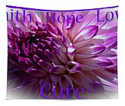 Purple Awareness Support Tapestry