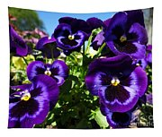 Purple Blooms Tapestry