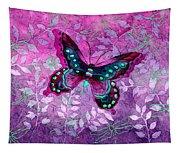 Purple Butterfly Tapestry