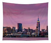 Purple City Tapestry
