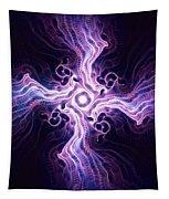 Purple Cross Tapestry