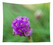 Purple Flower Tapestry